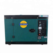 High quality 7.5kva small size lister generator set with 6kw 2 cylinder diesel engine genset for sale