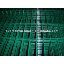 high quality Pvc coated welded galvanized wire mesh panel