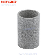 Custom-Make powder sintering  long service life multilayer porous metal stainless steel  filter tube  for filtartion system