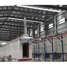 Customized metal surface treatment production line