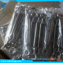 Polished European Type 430 stainless steel turnbuckle