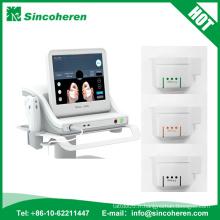 La technologie la plus récente! Machine de Hifu / Hifu focalisé à haute intensité d'ultrason pour le retrait de ride / visage de Hifu