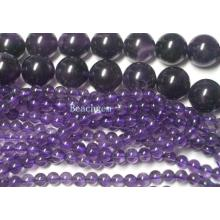 Loose Amethyst Gemstone Beads