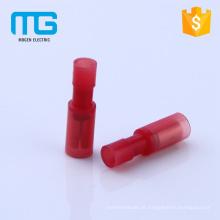Conector de desconexões macho e fêmea totalmente bala de nylon isolado