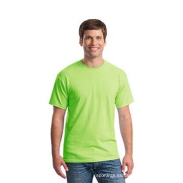 Oem promoción t-mierda para hombres dri en forma de camisa en blanco