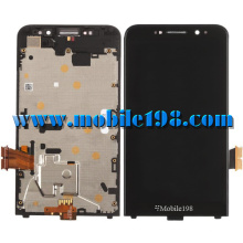 LCD Display and Touch Screen with Frame for Blackberry Z30
