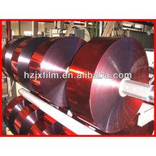 12 μm metallischer Garnfilm