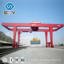 Schwerlast-Container-Doppelträger-Portalkran 40 Tonnen