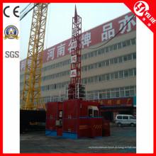 Levantador de talha de elevador de construção de 1 tonelada
