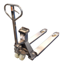 Stainless Steel Printer Pallet Truck Scale