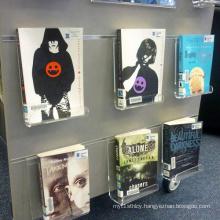 Wall Mounted Acrylic Book Holders, Acrylic Fiction Display