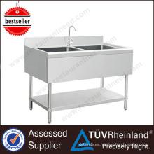 Con Under Shelf Kitchen - Puerta de acero inoxidable para el fregadero de la cocina