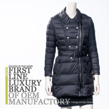 Light thin down jacket mulher inverno 2017