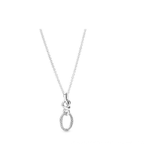 Necklace S925 Ocean Heart Clavicle Chain Same Necklace Dream Balloon Rose