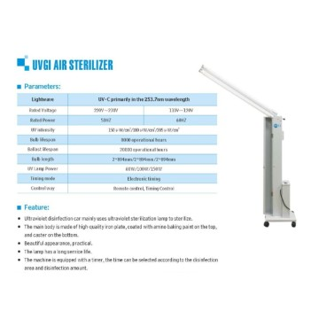 UVC Ultraviolet LED strip 254 NM esterilizador germicida
