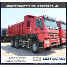 Caminhão de descarregador da capacidade 1820cbm 6X4 de Sinotruk HOWO