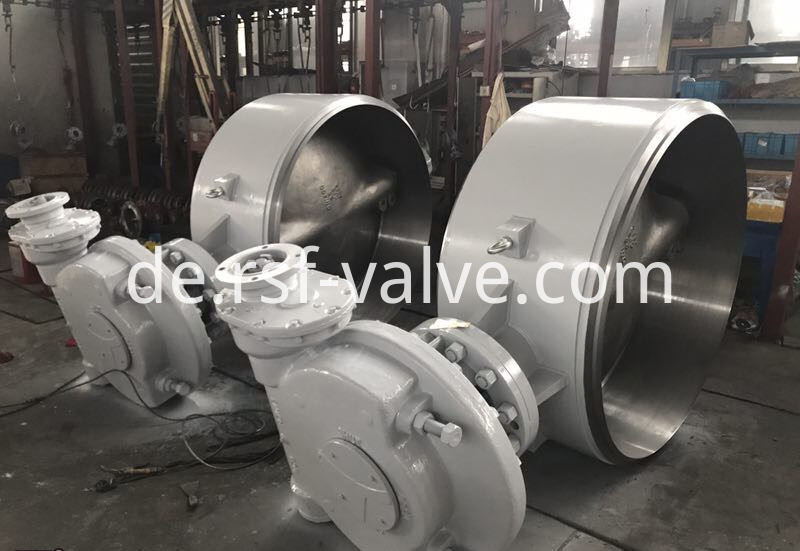 Triple Offset Butterfly Valve Bw Ends 3