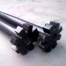 Rotors en graphite de carbone anti-oxydation avec arbre