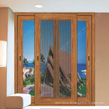 Projeto personalizado Best-Selling do preço de fábrica que desliza a porta e a janela de tela do mosquito