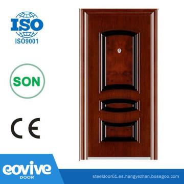 Eovive puerta barato puerta de acero de la seguridad