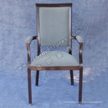Tubo preto e cadeira confortável restaurante restaurante (YC-E65-05)