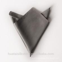 Lazo al por mayor de la aduana del 100% seda y cuadrado del bolsillo