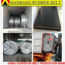 Oil-resistant conveyor belt EP300 cut edge