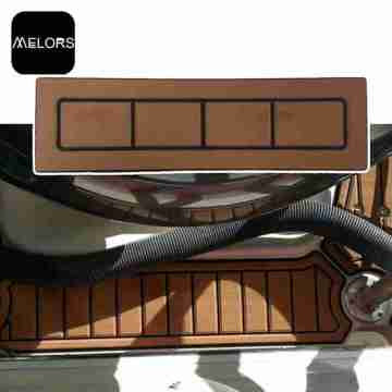 Melors Synthetic Teak Flooring Boat Lembar Kustom CNC