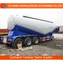 Reboque maioria do cimento do volume do reboque do tanque do cimento 3axles do volume 3axles semi semi