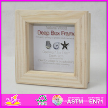 2014 Hot Sale New High Quality (W09A023) En71 Light Classic Fashion Picture Photo Frames, Photo Picture Art Frame, Wooden Gift Home Decortion Frame