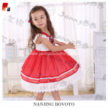 girls exotic print fancy red tulle designs dress