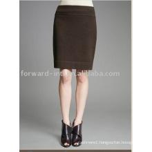 cashmere pencil skirt