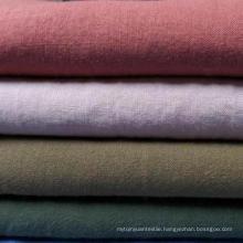 55% Ramie 45% Cotton Blended Fabric 21s Plain Cotton Ramie Fabric