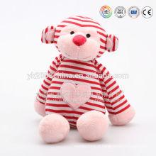 Venda direta da fábrica articulada & tira bebê macaco brinquedos, com segurança macaco materiais