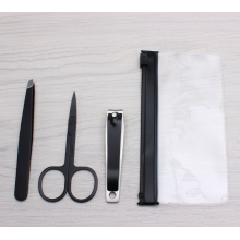 Stainless Steel Nail Clipper Eyebrow Trimmer Set
