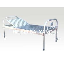 A-121 All-Stainless Steel Single Function Manual Больничная кровать