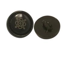 Botón de encargo de la camisa del metal del logotipo de los accesorios de la ropa