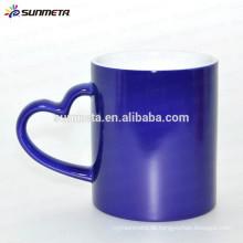 11oz Heizfarbe ändern Becher Temperatur ändern Tasse aus yiwu sunmeta