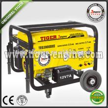TEG Serise TEG3900DX Benzin-Generatoren Set 5.5HP 2.5KW-2.7KW