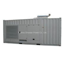 Schallisolierter Dieselgenerator 550kw 688kVA mit Doosan-Maschine
