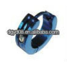 (WS812) moda brincos de canal de aço inoxidável