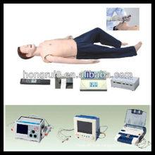 Sistema de Treinamento de Adultos ACLS ISO, Primeiros Socorros e Modelo de Treinamento em CPR