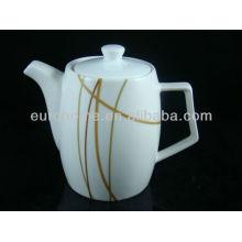 hotel supplies chinaware bone china tea pot