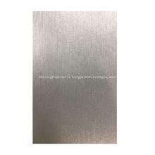 Autocollant de peau d'enveloppe de protection de téléphone en métal brossé