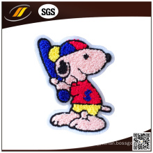 Cartoon Eco-Friendly Towel Embroidery Chenille Patch