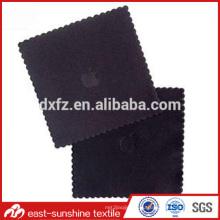 Логотип тиснением многоцветный печати микрофибры очки чистящая ткань, логотип напечатана микрофибры чистки объектива ткани