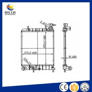 Sistema de radiadores de alta temperatura de piezas de refrigeración de alta calidad