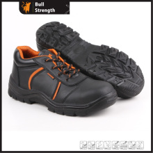 Industrial Leather Safety Shoes with Steel Toe and Steel Midsole (SN5258)