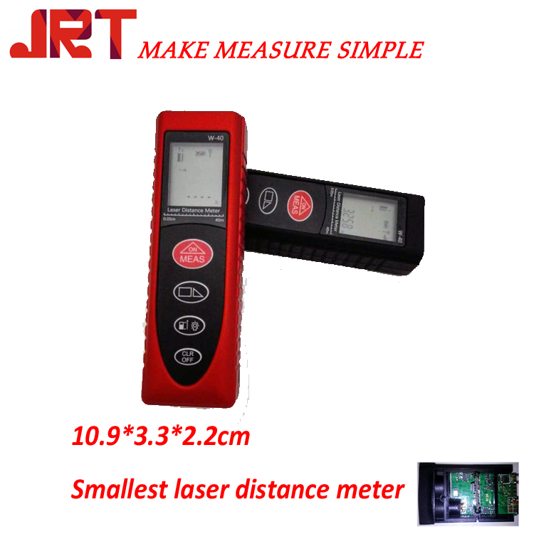 Small laser distance meter
