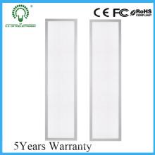 Carcasa de aluminio blanco ultra delgado panel LED 300X1200